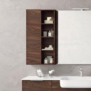 unidad de pared de baño