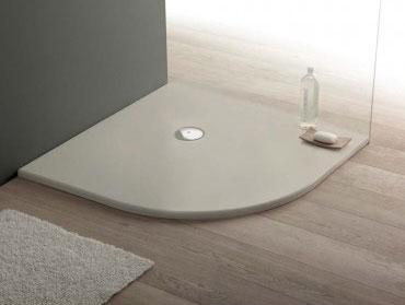 piatti doccia semicircolari 75x90 - piatti doccia semicircolari misure