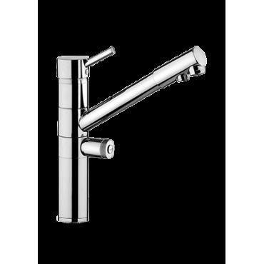 rubinetto tre vie acqua depurata - rubinetti cucina tre vie