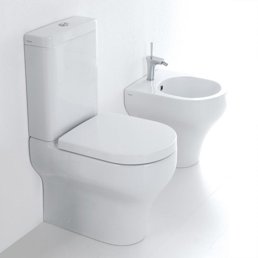 Monoblocchi sanitari con wc