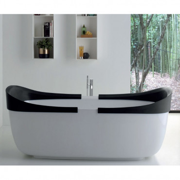 vasca libera installazione - vasca da bagno freestanding economica