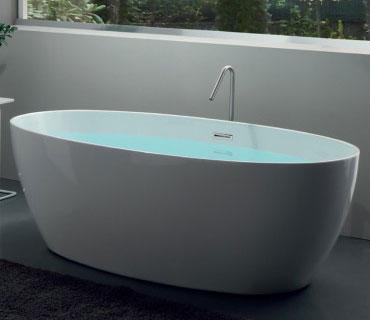 prix des baignoires ovales - dimension des baignoires ovales