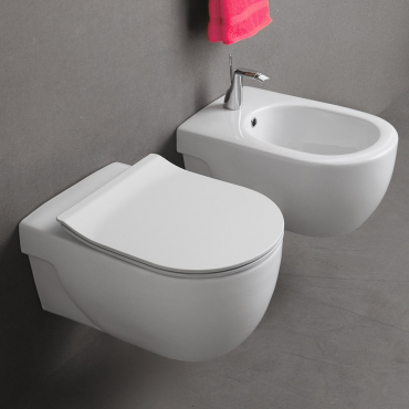 Suspended sanitary ware