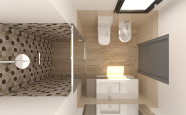 IDEAS FOR SMALL BATHROOMS: FIND OUT HOW TO FURNISH A SMALL AND NARROW BATHROOM WITH ELEGANCE AND PRACTICALITY